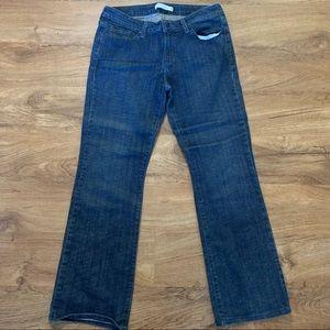 LEVIS 545 Dark Wash Blue Boot Cut Jeans Size 10 LN